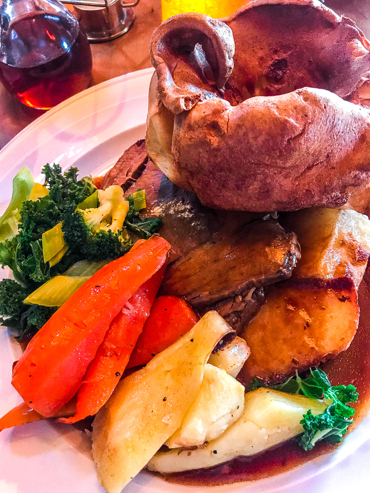 Sunday Dinner at The Woodmans Arms Wickham, Newcastle 4