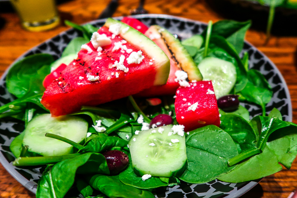 Feta & Watermelon Salad | Nando's Sunderland | Launch new vegetarian and vegan menu and we gave it the taste test | Eating in Sunderland | Food Review | Elle Blonde Luxury Lifestyle Destination Blog