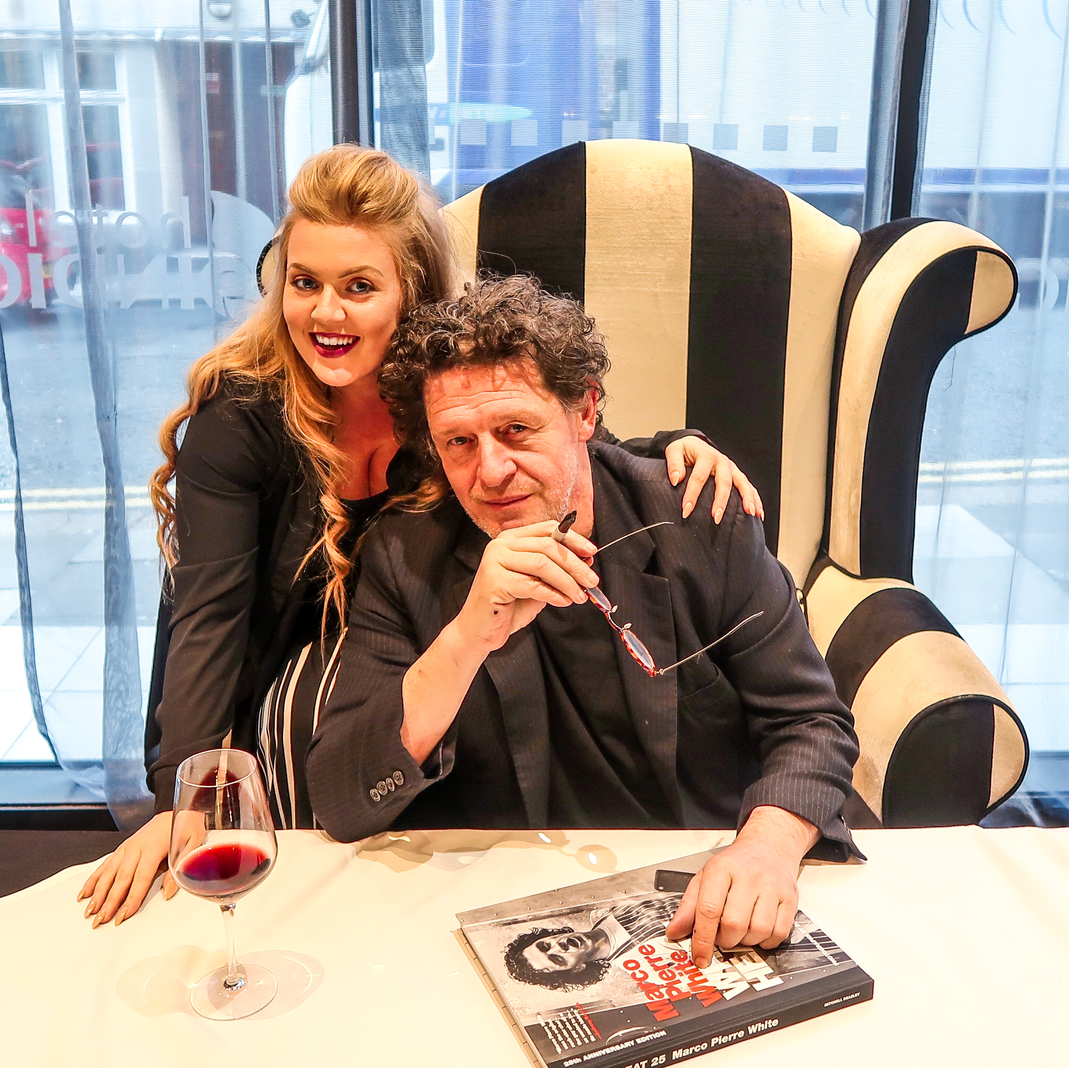 Meeting Marco Pierre White at MPW Newcastle 1