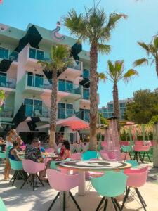 Wi-Ki-Woo Hotel | Where's good to eat in San Antonio Ibiza, restaurant and food guide | Travel Tips | Elle Blonde Luxury Lifestyle Destination Blog