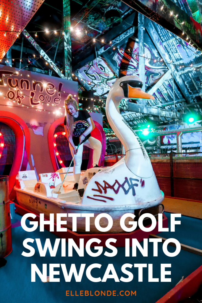 Ghetto Golf Newcastle: The Amazing Number 1 Mini-Golf Course 11