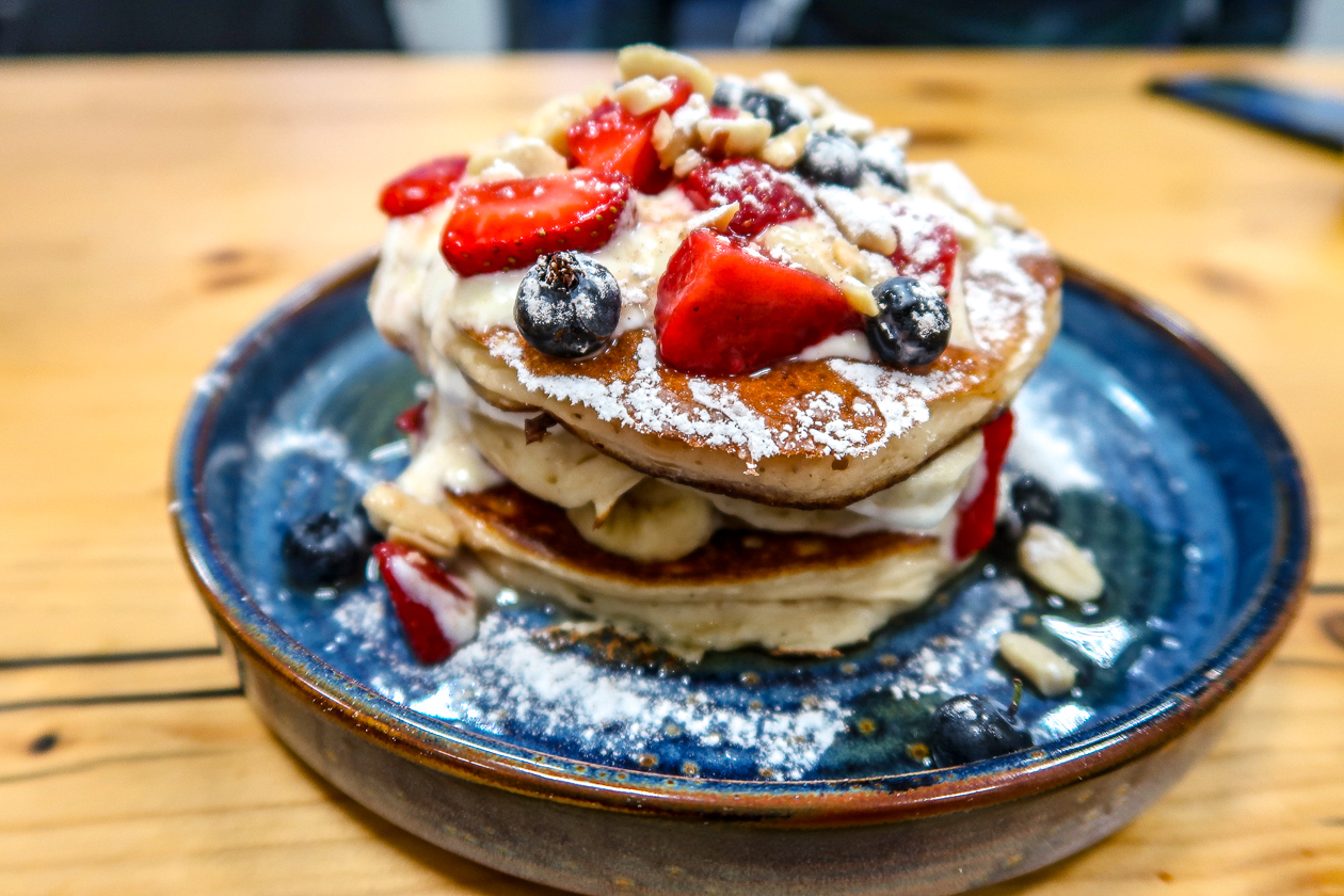 Pancakes | Nu to Go | Clean Healthy Eating in Newcastle Gateshead | Vegan, Vegetarian, Gluten Free | Food Review | Elle Blonde Luxury Lifestyle Destination Blog