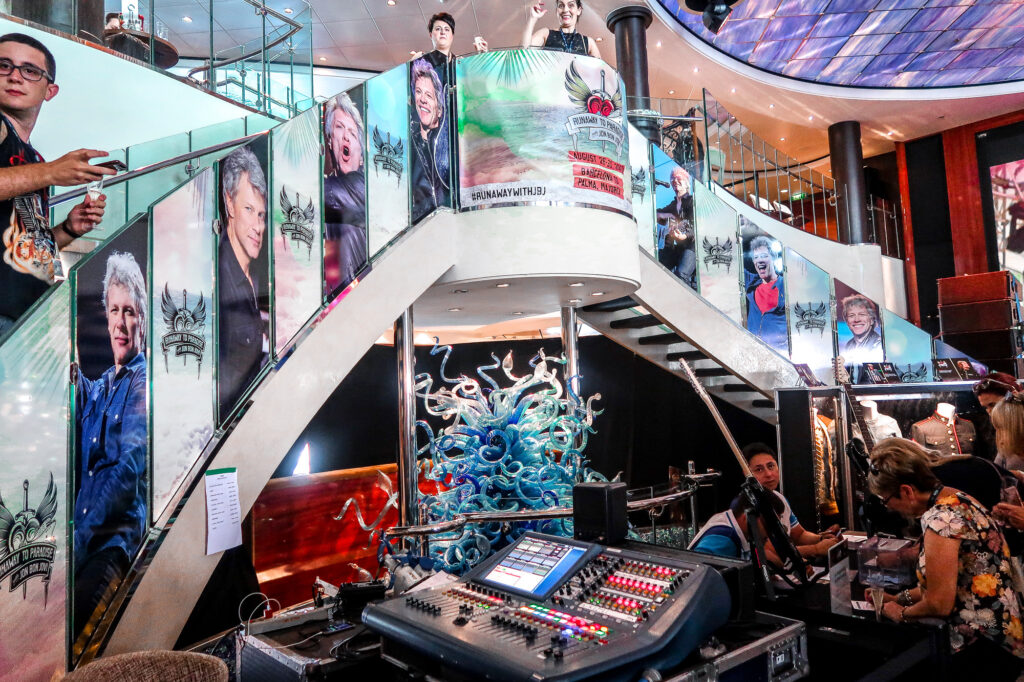 Cruising is the new cool  - Jon Bon Jovi Cruise 7