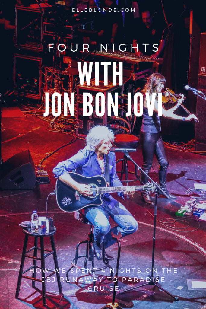 Cruising is the new cool  - Jon Bon Jovi Cruise 19