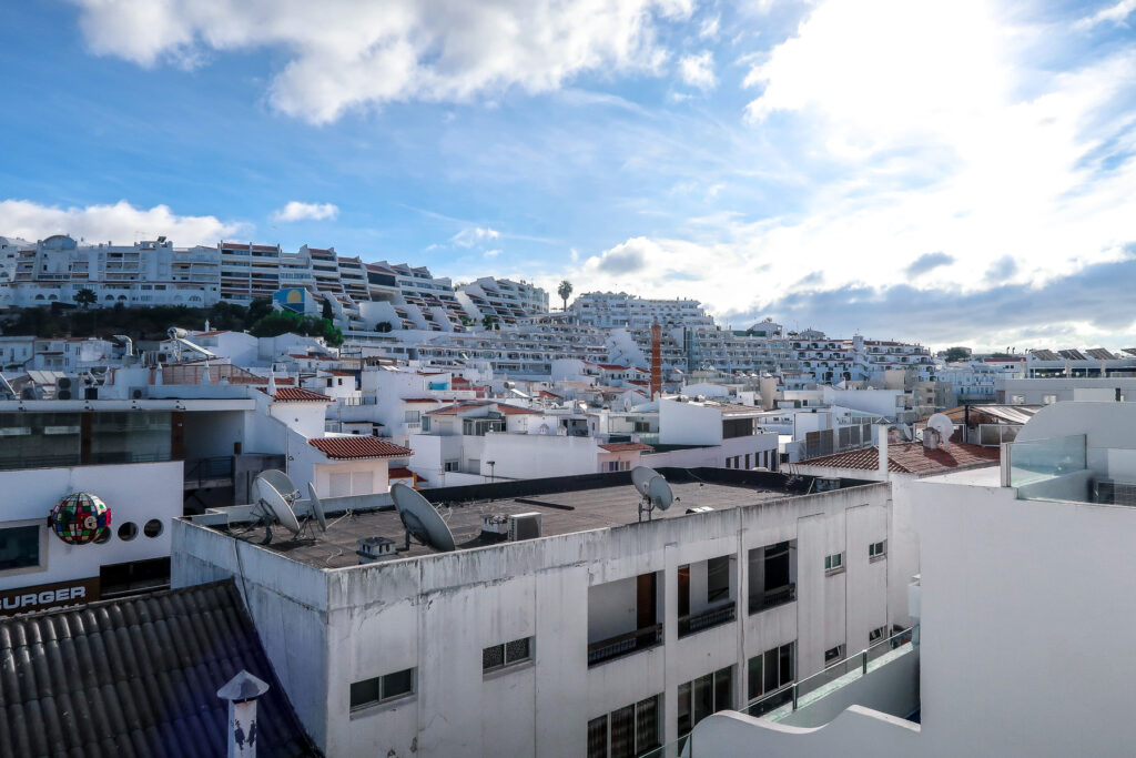 Blue Skies - Hotel California in Albuferia Old Town, The Algarve Portugal | eco-friendly, vegan, adults-only hotel with a modern twist | On The Beach Holidays Review | Elle Blonde Luxury Lifestyle Destination Travel Blog