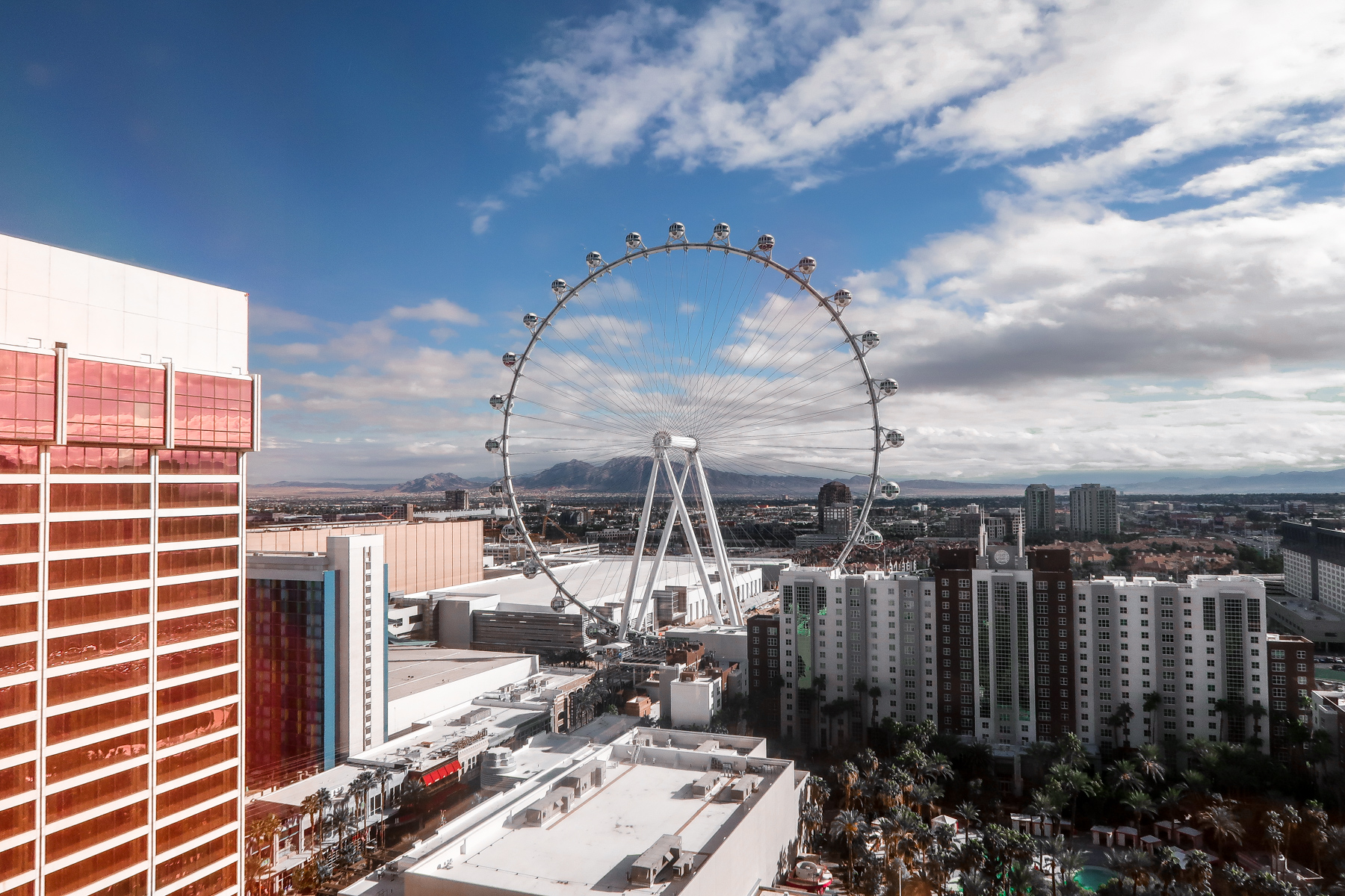 High Roller Linq | 7 Night Itinerary for Las Vegas | If you're looking to plan things to do in Vegas here's what we got up to on our 6th visit | Travel Tips | Elle Blonde Luxury Lifestyle Destination Blog