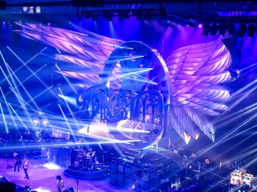 Aerosmith at Park MGM   7 Night Itinerary for Las Vegas   If you're looking to plan things to do in Vegas here's what we got up to on our 6th visit   Travel Tips   Elle Blonde Luxury Lifestyle Destination Blog