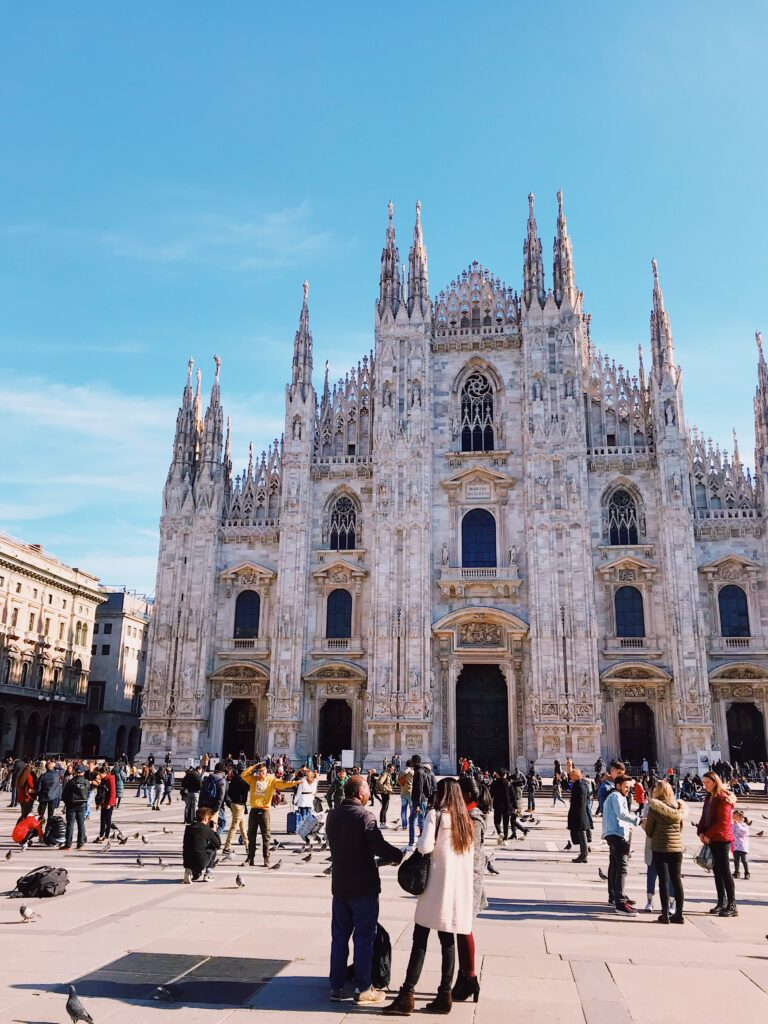 Milan Cathedral Duemo 8 things you must see and do in Milan. Italy   Travel Guide   Elle Blonde Luxury Lifestyle Destination Blog