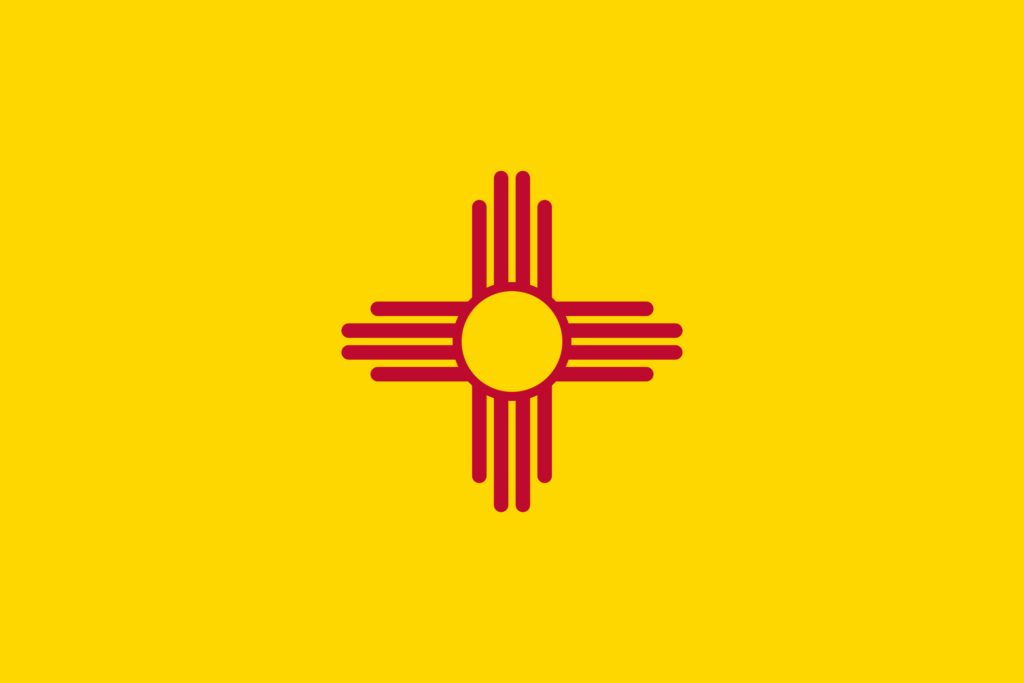 New Mexico | 8 Things You Won't Know About US State Flags | Travel Tips | Elle Blonde Luxury Lifestyle Destination Blog