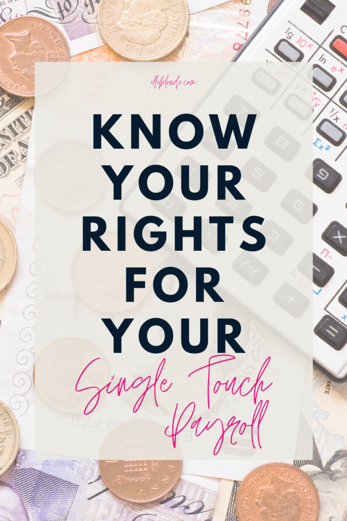 Knowing your employee rights under STP | Finance and Payment Advice from Elle Blonde Luxury Lifestyle Destination Blog