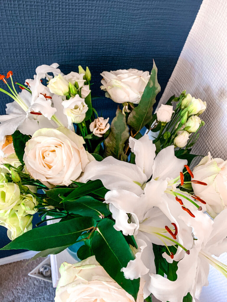 Moonpig Fresh Flower Bouquets Discount Code - Roses & Lilies Review   Gifts   Elle Blonde Luxury Lifestyle Destination Blog