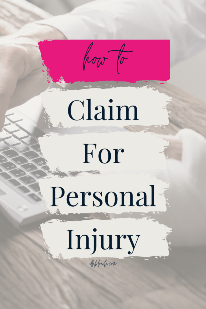 Different types of personal injury claims