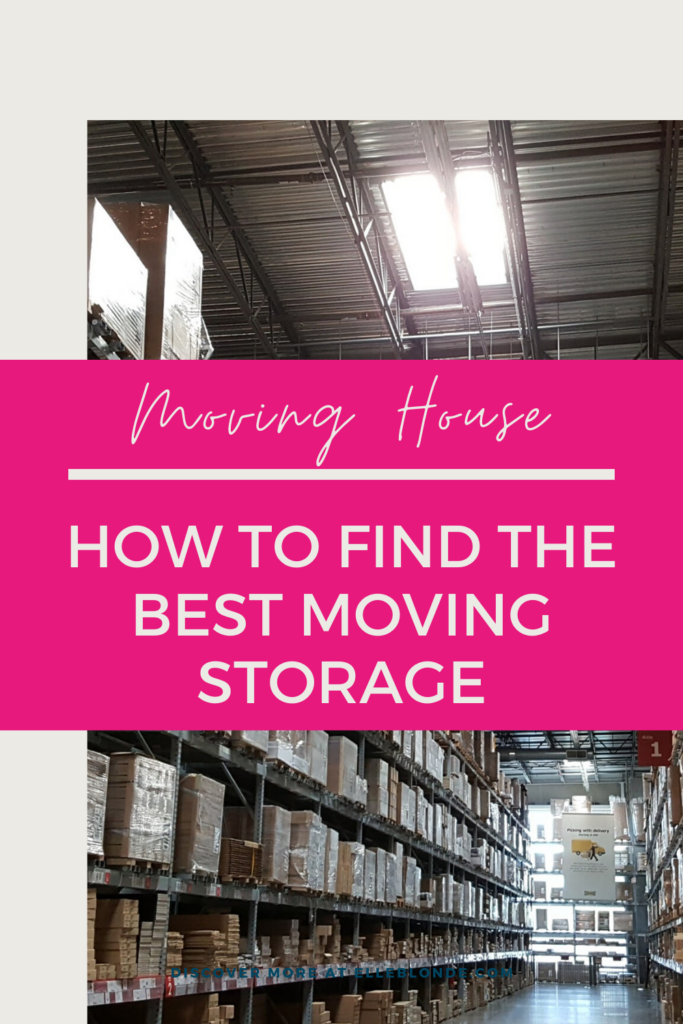Finding the best storage in London | Moving house | Elle Blonde Luxury Lifestyle Destination Blog