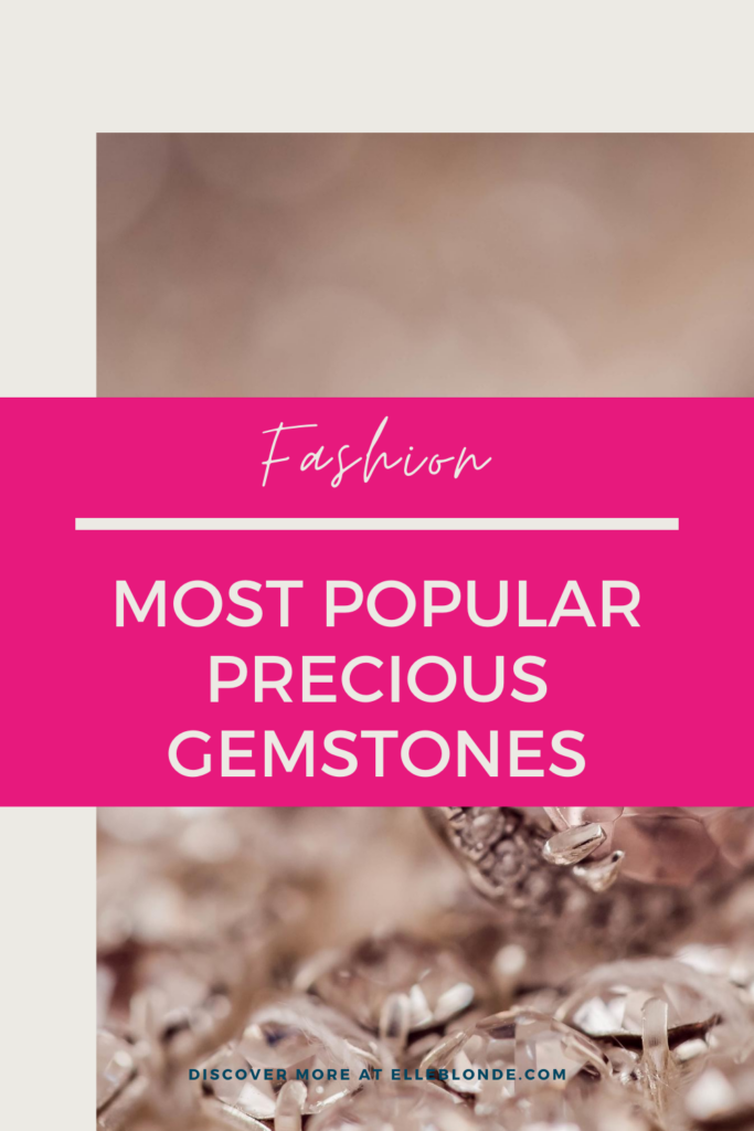 What Gemstones Were The Most Popular In Antique Jewellery?