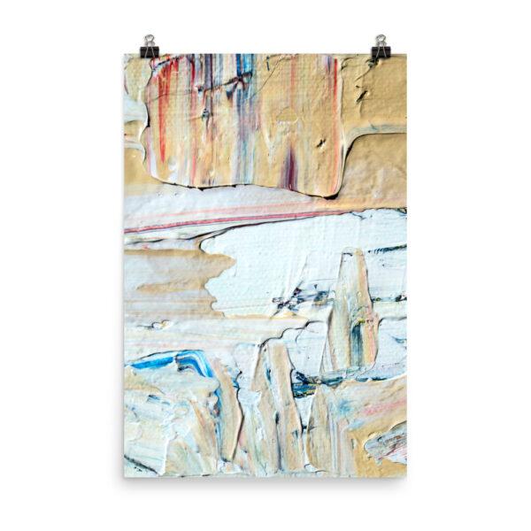 Abstract Print | Home Interiors | Elle Blonde Luxury Lifestyle Destination Blog