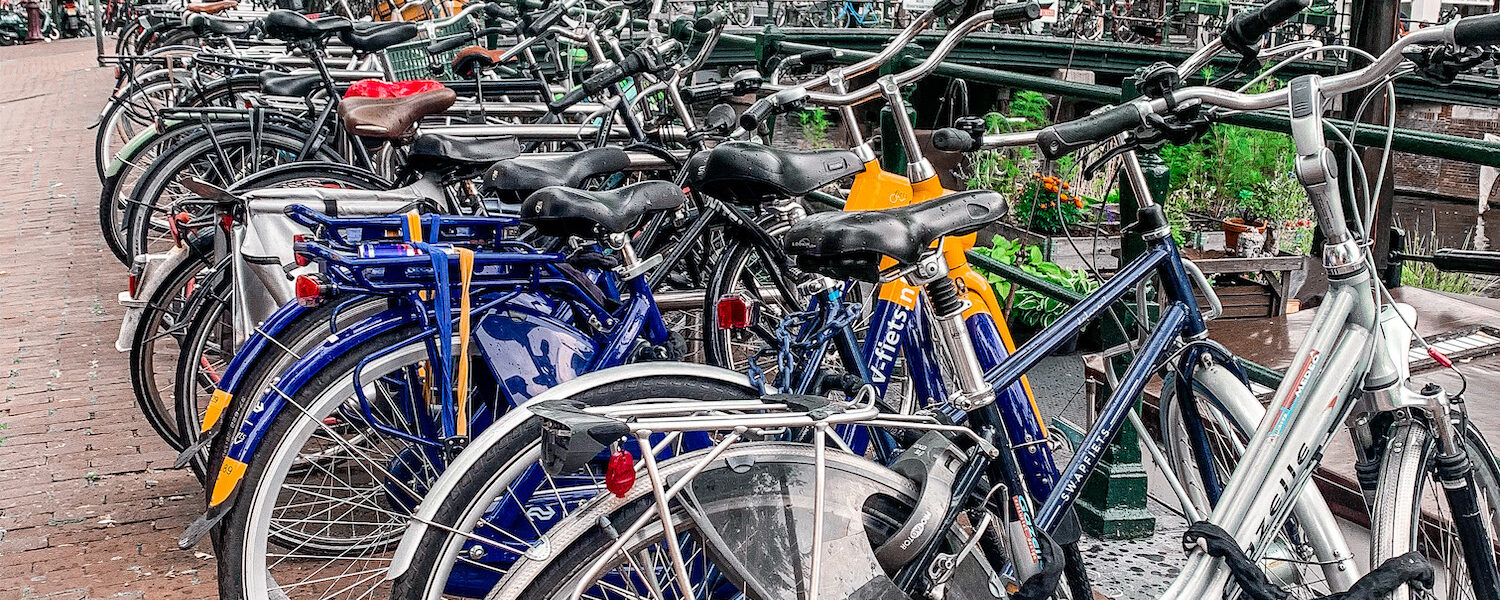 Bikes | Visit Amsterdam | How to Spend 5 Hours in Amsterdam | DFDS Ferry | Travel Guide | Elle Blonde Luxury Lifestyle Destination Blog