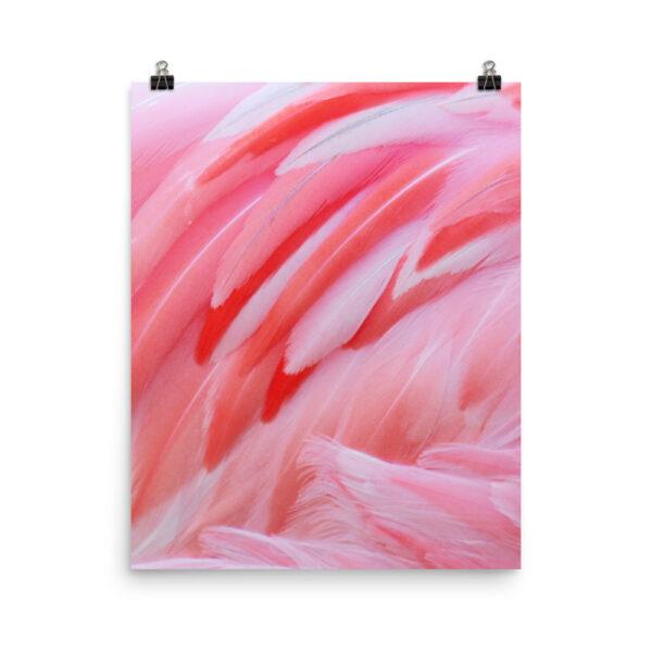 Pink Flamingo Print| Prints & Posters Home Interiors | Elle Blonde Luxury Lifestyle Destination Blog