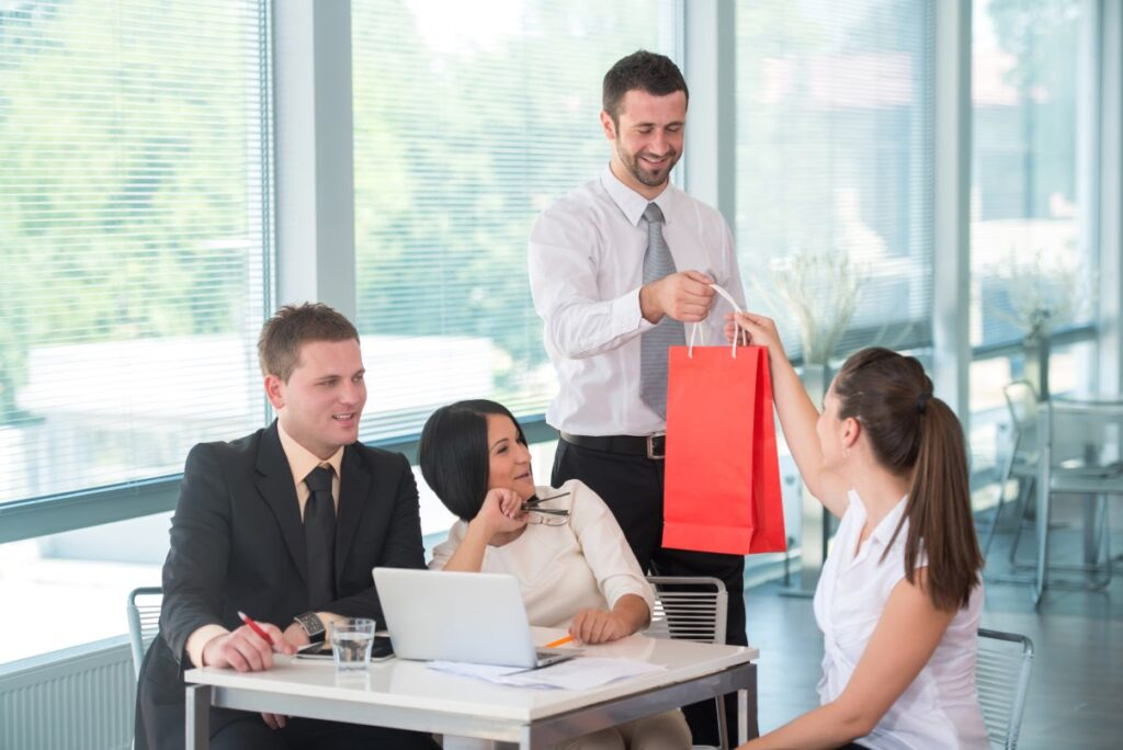 A Word on Gift Giving in the Corporate World   Business Tips   Elle Blonde Luxury Lifestyle Destination Blog