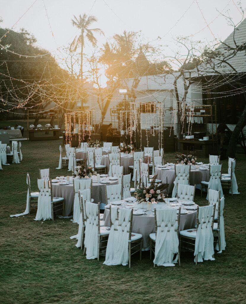 Wedding seating | 8 Beautiful Ways to Use Satin Ribbons in Weddings | Wedding Tips | Elle Blonde Luxury Lifestyle Destination Blog